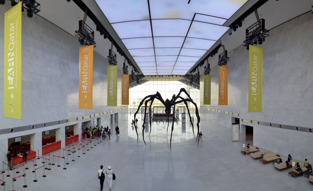 """The Spider"", Qatar National Convention Centre"
