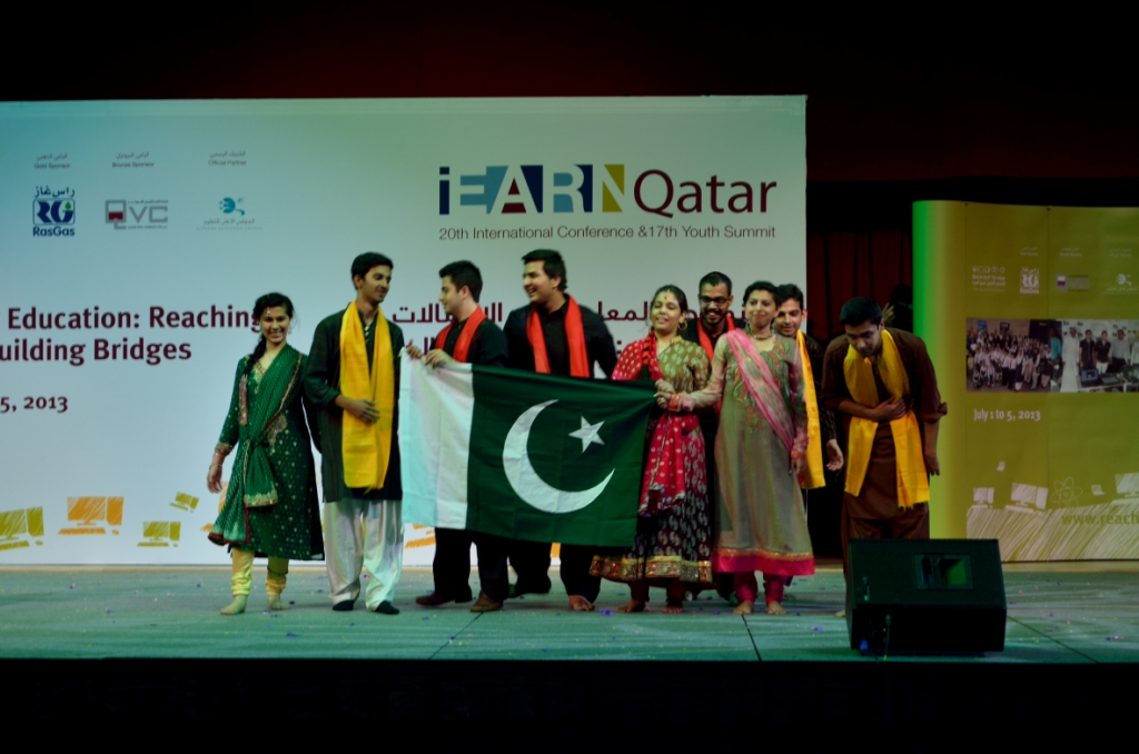 The Pakistan iEARN Twitterati - including @FSKamal, @hsaeed92, @SidrahN,   and @BilalZKhan